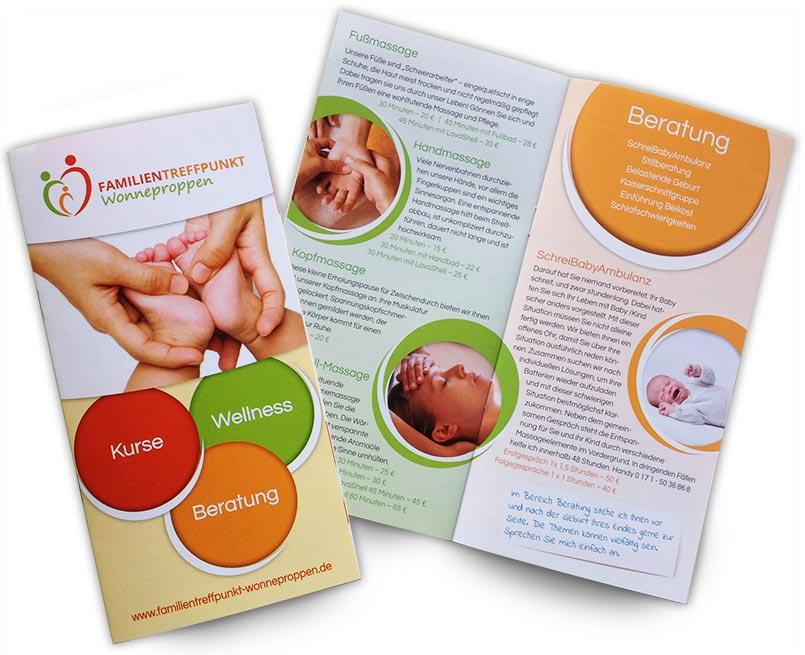 Gestaltung Broschüre