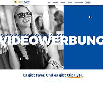Webdesign Videowerbung