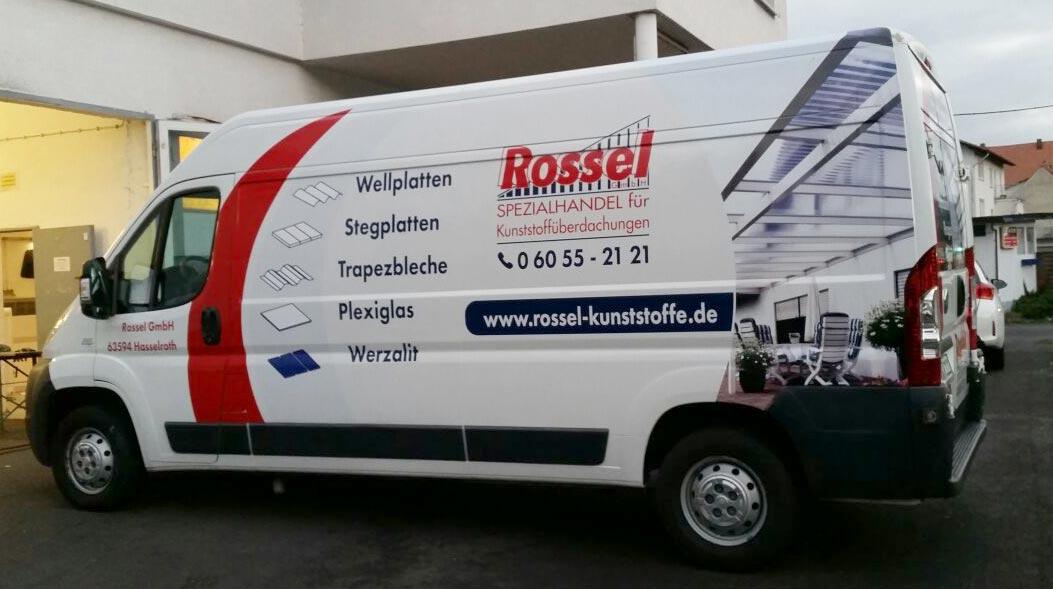 Fahrzeubeschriftung Transporter