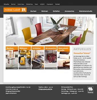 Webdesign Möbelhaus