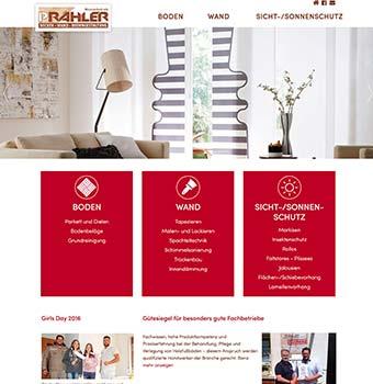 Webdesign Raumaustatter