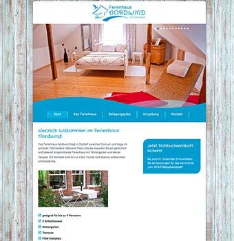 Webdesign Ferienwohnung