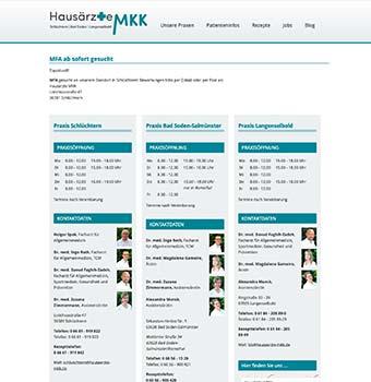 Webdesign Hausarzt