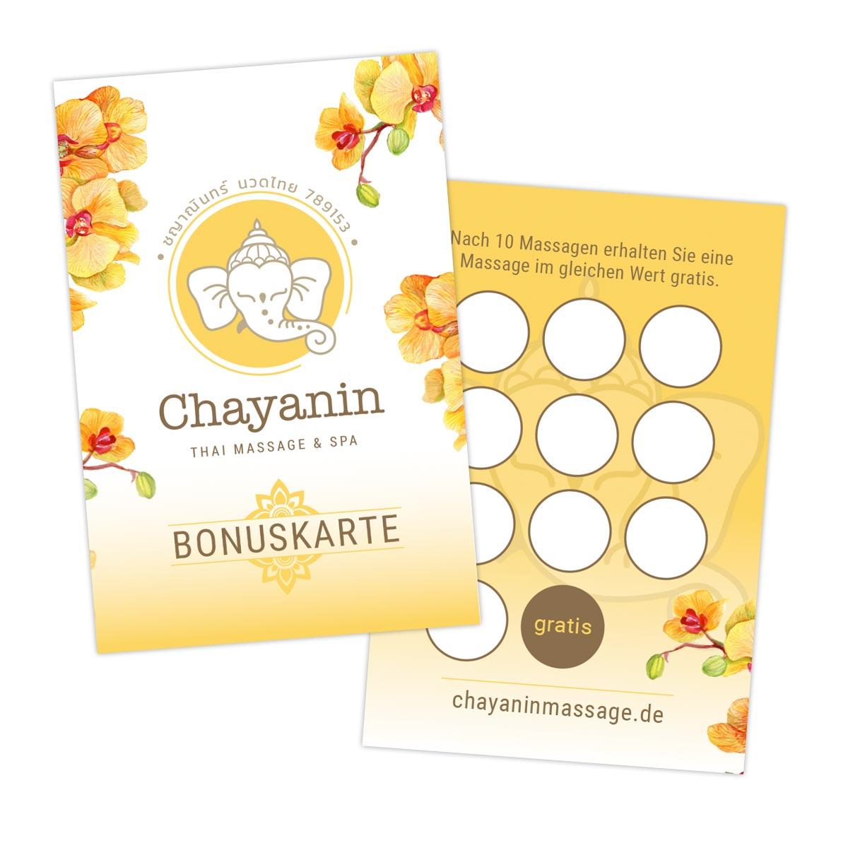 Design Bonuskarte