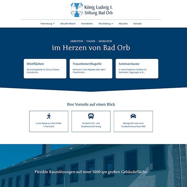 Webdesign Stiftung