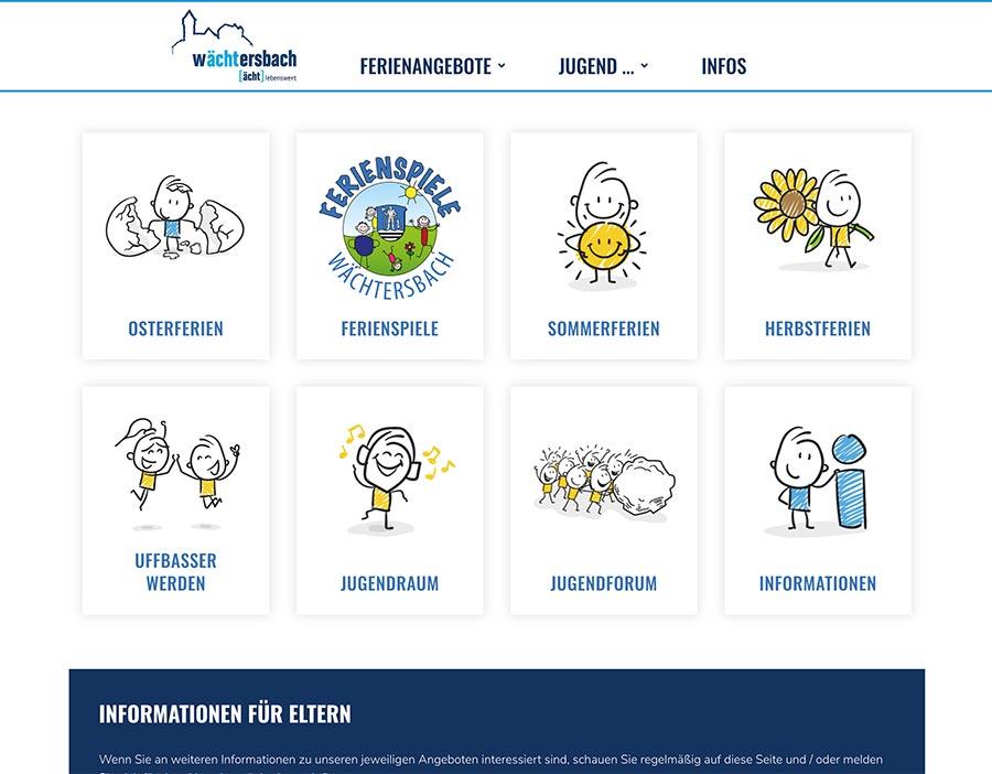 Webdesign Kommune