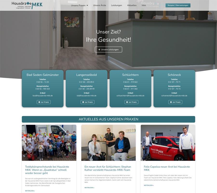 Webdesign Hausarztpraxis